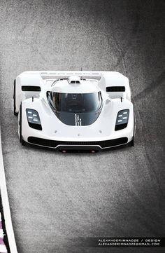 Porsche GT Vision 906 / 917 by Alexander Imnadze Source: https://www.behance.net/gallery/46718575/Porsche-GT-Vision-906-917-concept