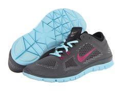 Nike Free TR Fit 4 Dark Base Grey/Black/Glacier Ice/Bright Magenta - Zappos.com Free Shipping BOTH Ways
