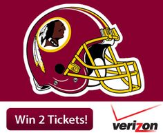 Washington Redskins  HTTR! Now's your chance to enter to win two tickets to see the Redskins take on the Dallas Cowboys on December 30, courtesy of Verizon FiOS! http://redsk.in/Vc2ZiH