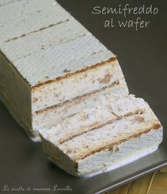 SEMIFREDDO AL WAFER ,torta gelato