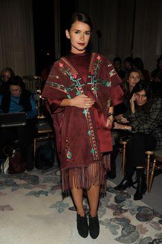 Miroslava Duma Paris Haute Couture ss'14: Valentino #streetstyle