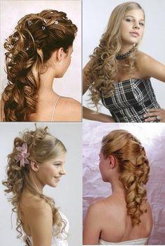 + peinados Le Look, Healthy Hair, Pretty Hairstyles, Up Hairstyles, Wedding Hairstyles, Beauty Makeup, Hair Beauty, Makeup For Teens, Curls