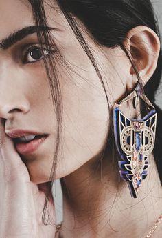 Empress Earrings | Anisha Parmar London | NOT JUST A LABEL