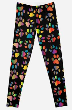 Leggings – Unique Patterns – illustration design  Leggings leggins Puppy Paw Prints • Also buy this artwork on apparel, stickers, phone cases, and more.
