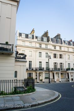 Eaton Square, London, England - it used to be the set for a great British TV series