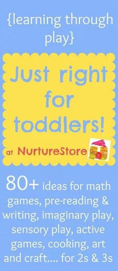 Learning through play 80 activities