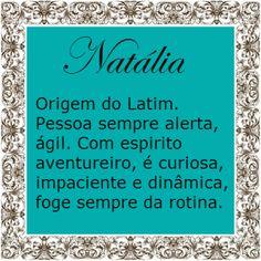 Significado do nome Natalia   Significado dos Nomes