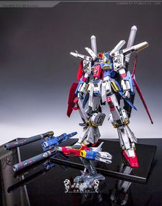 GUNDAM GUY: 1/60 MSZ-010 ZZ Gundam - Painted Build