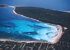 the beach saharun, on dugi otok.