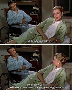 (Quotes) Rear Window directed by Alfred Hitchcock Classic Movie Quotes, Classic Movies, Old Movie Quotes, Iconic Movies, Old Movies, Great Movies, Indie Movies, Citations Film, The Blues Brothers