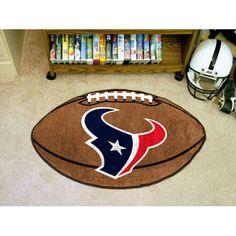 Houston Texans Football Floor Mat (22x35)