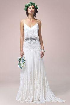 Vestido de casamento para praia #bohoweddingdresses