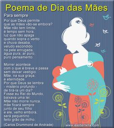 Poema dia das mães Mothers Day Poems, Just Pray, Special Words, In Loving Memory, Family Love, Beautiful Words, Life Quotes, Happy Birthday, Porto Portugal