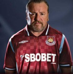 Ray Winstone - West Ham legend!