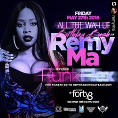 Repost @remyma with @repostapp.  Can anybody say MOVIE!!!! It's my birthday!!! STAGE48 this Friday May 27 @funkflex is in the building so you already  Trust me YOU DO NOT WANNA MISS THIS If u #AllTheWayUp...come f wit a real 1 #RemyMa #RemyMafia #HandsDown  #NothingCanStopMe #instagood dj #djs Rap BattleDjs #Hiphop  #Talnts #HouseMusic #Reggae  #paidinfull #PopMusic #Seratodj  VinylRecords  #Brooklyn #NYC #party #turntablism #rap #hiphop #radiodj #instarepost20 #instarepost #Strippers…