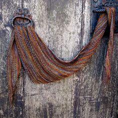 G'day Boomerang by Susan Ashcroft. malabrigo Sock or Finito, Piedras color.