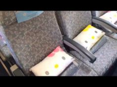 ▶ 【Trip to Taiwan 3】Board on the Hello Kitty Jet of EVA Air. - YouTube