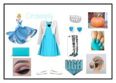 """""""Modern Cinderella! Disney Look 1#"""" by n-kaas-sorensen on Polyvore featuring Cutie, Chanel, ALDO, Kate Spade, Bling Jewelry, Essie, Ice, Lord & Taylor, Anya Hindmarch and Casetify"""