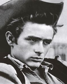 James Dean.. The only man besides my dad and God that my husband doesnt mind if I am in Love with!