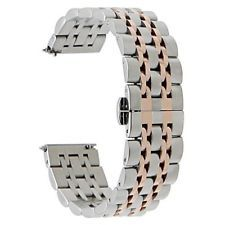 Gear S3 Watch Band Quick Release Steel Butterfly Buckle Strap 22mm Classic