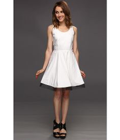 Nicole Miller Nicola Linen Stretch Dress
