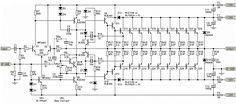 1500W Stereo Power Amplifier Schematic - Amp Circuit Diagram