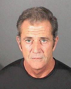 Mel Gibson has had a number of highly publicized meltdowns and several run-ins with the law, including making anti-semitic comments to his arresting officer and domestic abuse charges from battering his girlfriend.   9 Crazy Celebrity Mugshots - Instant Checkmate http://blog.instantcheckmate.com/9-crazy-celebrity-mugshots/#