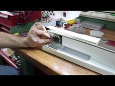 Bernina 820/830/880 Threading - YouTube