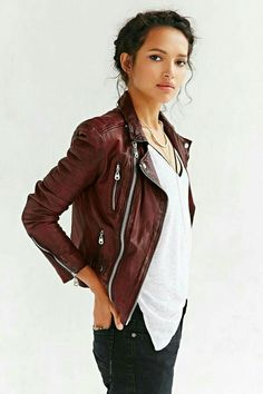 Brown leader jacket