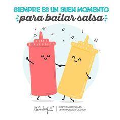 ¿Bailas conmigo? #FrasesBaile