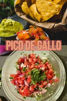 Pico de gallo is a quick and fresh tomato salsa that will spice up any #TacoTuesday. Whether it is used solely as a dip or scattered across your nachos, this is a recipe we all can love!