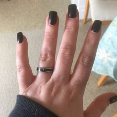 Items Similar To Black Wood Anium Stack Ring With Diamond On Etsy