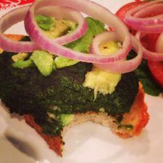 Cancer-Fighting Kale Burger (Vegan Recipe)
