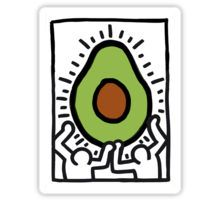 25 Famous Paintings Improved by Avocados Untitled, 1988 (Two Figures with Heart with Avocado), Keith Haring, 1988 Keith Haring Art, Keith Haring Poster, Keith Haring Prints, Avocado Art, Arte Pop, Art Plastique, Famous Artists, American Artists, Wall Collage