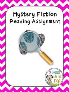 Mystery Fiction Book Report: Students are given a choice of 3 different assignments: Letter to a Movie Director, Create a Blog or Write a News Story. ($2.00)