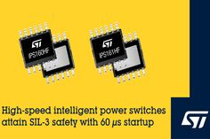 IPS160HF and IPS161HF Intelligent Power Switches Numerical Control, Power Electronics, Process Control, Safety, Security Guard