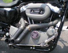 Sportster, Nightster custom exhausts 1200 OR 883 Exotic Choppers