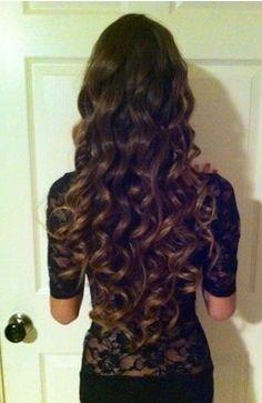 curly Cheers hair!