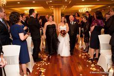 Here comes the bride! www.SterlingBallroomEvents.com Photos courtesy of Marconi Photography. #bride #groom #wedding #weddingflowers #NJ #TintonFalls #MonmouthCounty #venue #ballroom #doubletreetintonfalls #marriage #love