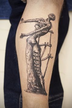 dali tattoo | Tumblr