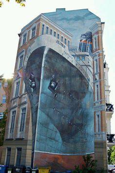 Urban Art: 3-D Murals