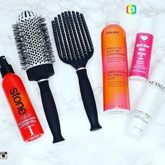 """Texturizing Spray - Volume in a bottle! I use this before blow drying to add extra body. Hair Essentials, Texturizing Spray, Blow Dry, Conditioner, Bottle, Flask, Jars"