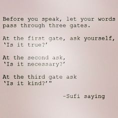 Power of words ... I will try to remember it too.