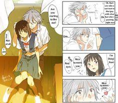 irisreceptor: エヴァつめぇぇぇ! Pixiv ID: 3267861 Member: ふじはる Sadamoto Manga Kawoshin(♀) I really love girl!Shinji, I wish we had more art of he...