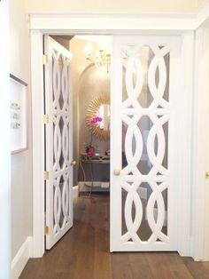 Cute door for a closet/office