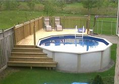 Above Ground Swimming Pool Decks Plans . Above Ground Swimming Pool Decks Plans . 21 the Best Ground Pools with Decks Design and Ideas Piscina Pallet, Piscina Diy, Piscina Intex, Swimming Pool Decks, Above Ground Swimming Pools, In Ground Pools, Swiming Pool, Oberirdische Pools, Cool Pools