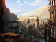 Persian Heights by Rhynn
