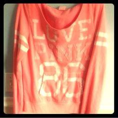 Victoria's Secret Pink Varsity Sweatshirt M Size M in excellent preloved condition! Victoria's Secret Tops Sweatshirts & Hoodies