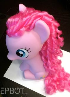 "I picked up this Pinkie Pie from the thrift shop for $.99 - and over John's protests:   ""Where are you going to put that? "" ""Your r..."