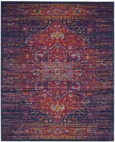 Safavieh Evoke 275 Collection 11' X 15' Rug, Purple